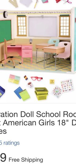 Classroom For American girl Size Dolls for Sale in Los Angeles,  CA
