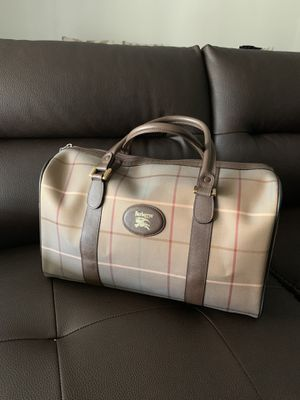 Authentic vintage Burberry Boston Bag for Sale in Sacramento, CA