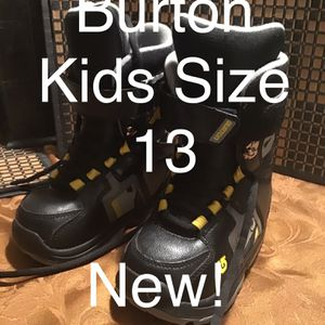 Burton Children's Boots Size 13 (New) for Sale in San Bernardino, CA
