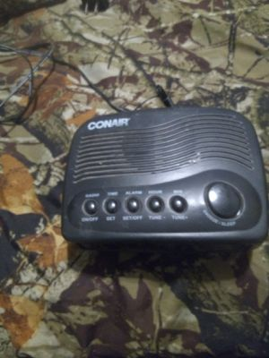 Conair alarm clock for Sale in New Canton, VA