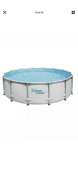 *BRAND NEW* Summer Waves 14x42 Elite Frame Pool with filter/pump and cover for Sale in Charlotte, NC