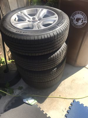 Stock dodge rims and Michelin tires for Sale in Elk Grove, CA