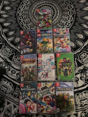 Nintendo swith games for Sale in North Las Vegas, NV