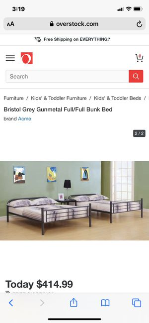 Full on full bunk beds just like the picture for Sale in Delray Beach, FL