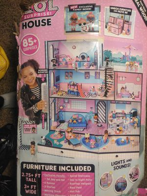 Lol doll house for Sale in Tacoma, WA