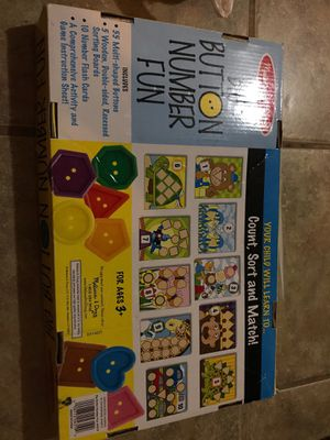 Melissa & Doug Big Number Button Fun for Sale in Elmont, NY