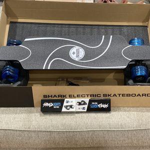 Shark wheel electric skateboard for Sale in Grand Prairie, TX