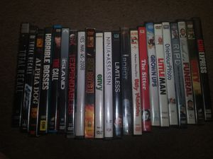MOVIES MOVIES MOVIES: HUGE MOVIE LOT ..READ FOR PRICES for Sale in Lorain, OH