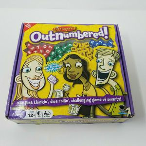 Outnumbered Game by Dicecapades Ages 12+ 3-6 Players 30 minutes Game Night for Sale in El Sobrante, CA