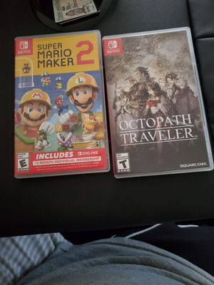 Nintendo Switch Games 43 each for Sale in Annandale, VA