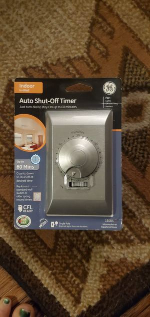 Auto shut-off timer for Sale in San Marcos, TX