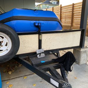 2003 Voyager ATV/Motorcycle/Snowmobile Trailer for Sale in Seattle, WA
