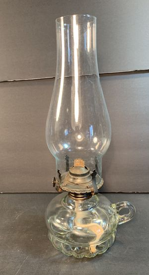 "LAMPLIGHT FARMS Finger Loop Clear Oil/Hurricane Lamp (Height: 12-3/4"") for Sale in Dade City, FL"