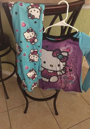 Hello kitty pajamas for Sale in Poinciana, FL