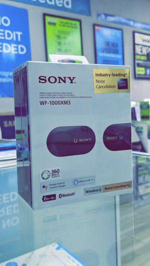 Sony - WF-1000XM3 True Wireless Noise Cancelling In-Ear Headphones - Brand New in Box for Sale in Arlington, TX