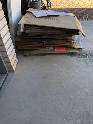 Moving boxes all sizes free for Sale in Las Vegas, NV
