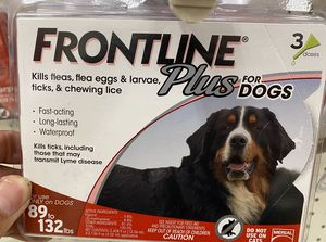 Frontline plus for pets all sizes available wholesale price for Sale in Carson, CA