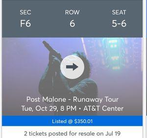 Tickets for Sale in San Antonio, TX