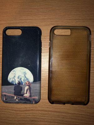 iPhone 8 Plus/7plus cases (2) for Sale in Wichita, KS