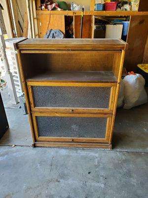 Antique Oak Book Case for Sale in Diamond Bar, CA