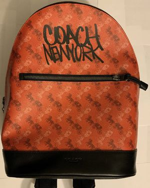 Men's Coach Backpack for Sale in East Windsor, CT