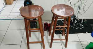 Brown Kitchen Stools x 2 for Sale in Miami, FL