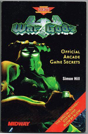 "Rare Vintage Prima Publishing ""War Gods Official Arcade Game Secrets"" Guide Book for Sale in Pompano Beach, FL"