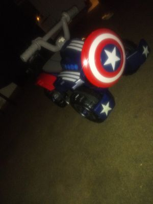 Captain America Power wheel for Sale in Columbus, OH