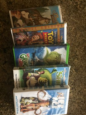 Variety of children's VHS movies for Sale in Leander, TX
