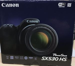 Canon Camera PowerShot- SX530 HS (Black) 30% OFF❗️🤩 for Sale in Chula Vista, CA