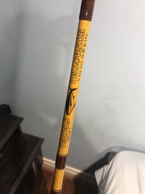 Vertels Yellowstick saltwater fishing rod for Sale in Glendale, CA