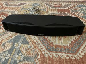 Bose VCS-10 Center Channel Speaker (black) in good condition for Sale in Seattle, WA