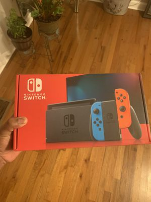 Nintendo switch brand new with color controllers for Sale in Lebanon, TN