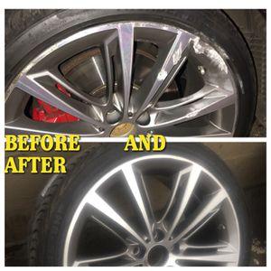 Wheel repair , painting and powder coating for Sale in Atlanta, GA