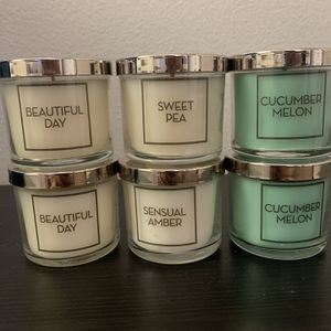 Small Single Wick Candles for Sale in Menifee, CA