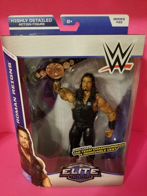 WWE Elite wrestling figures Roman Reigns the shield for Sale in Highland, CA