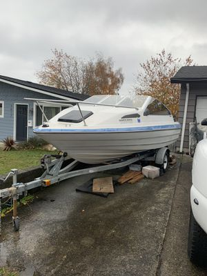 1988 Bayliner Capri and trailer for sale. for Sale in Tacoma, WA