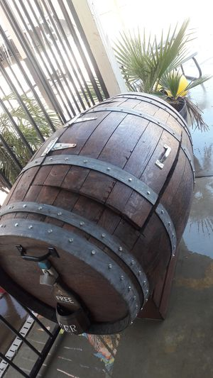 Barrel ice chest for Sale in Sanger, CA