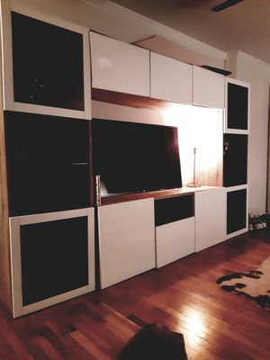 Tv stand. Storage/wall unit for Sale in Nutley, NJ