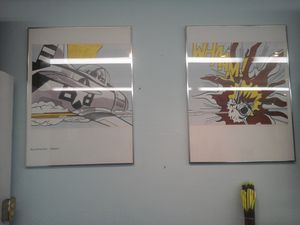 Wham! Comic Print By Roy Lichtenstein for Sale in Charlotte, NC