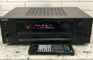 Sony 5.1 AV Receiver Amplifier Tuner Stereo Dolby STR-D711 Bundle w/ Remote! for Sale in Peoria, AZ