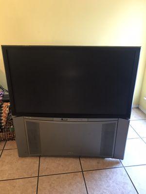 Hitachi 50 inch Rear Projection TV for Sale in Broken Arrow, OK
