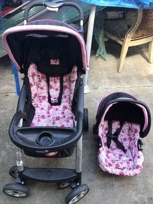 Car seat and stroller of mime mouse only $40 dlls area San Ysidro for Sale in San Diego, CA
