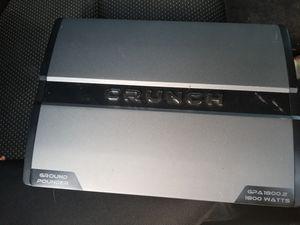 Vendo Amplificador crunch de 1800W $120 for Sale in Compton, CA