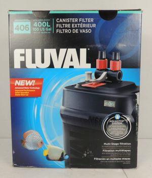 Fluval 406 Aquarium External Canister Filter for Fish Tanks up to 100 Gallons for Sale in Modesto, CA