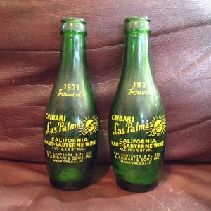 (2) RARE Las Palmas Antique Bottles for Sale in Medical Lake, WA