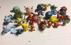 RARE retro Pokémon toys lot gen 1 generation 1 original Nintendo Pokemon Toys action figures collectable Pikachu Rpg charmander squirtle vaporeon for Sale in San Ramon, CA