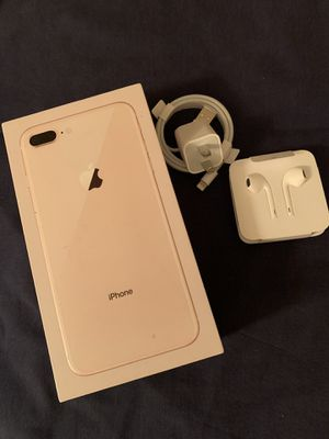 Unlocked Apple iPhone 8 Plus gold 64gb for Sale in Hayward, CA
