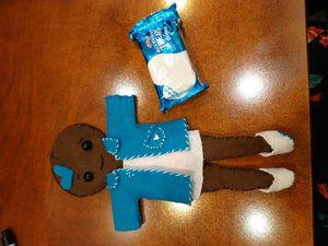 Black rice crispy themed doll for Sale in Gulfport, FL