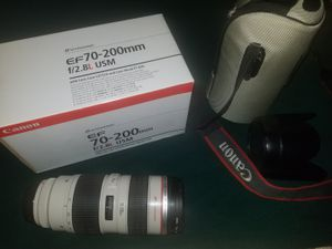 Canon EF 70-200mm f/2.8L USM for Sale in Tampa, FL